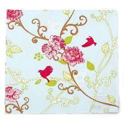 Салфетка HOME FASHION 33x33 см трипластова Bridget coloured -1 брой