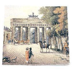 Салфетка HOME FASHION 33x33 см трипластова Brandenburger Tor -1 брой