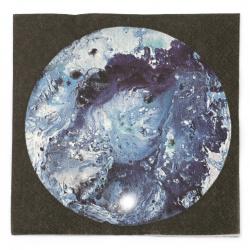 Șervețel decoupage Ambiente 33x33 cm cu trei straturi La Sorcas albastru-1 bucată
