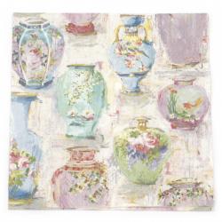 Салфетка за декупаж Ambiente 33x33 см трипластова Vases -1 брой
