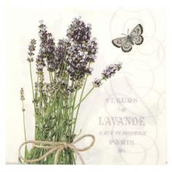 Салфетка за декупаж Ambiente 33x33 см трипластова Bunch Of Lavender -1 брой