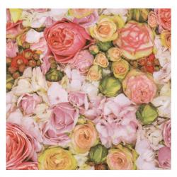 Салфетка за декупаж Ambiente 33x33 см трипластова Bed of Roses -1 брой