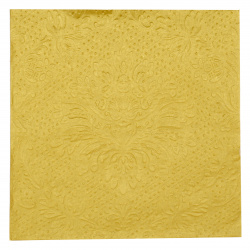 Салфетка ti-flair 33x33 см трипластова LUXURY gold -1 брой