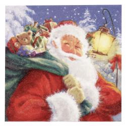 Салфетка ti-flair 33x33 см трипластова Santa with his Presents - 1 брой