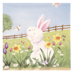 Салфетка ti-flair 33x33 см трипластова Easter Hide and Seek -1 брой