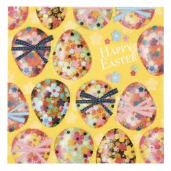 Салфетка ti-flair 33x33 см трипластова Multicoloured Easter Eggs -1 брой
