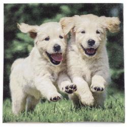 Салфетка ti-flair 33x33 см трипластова Happy Puppies -1 брой