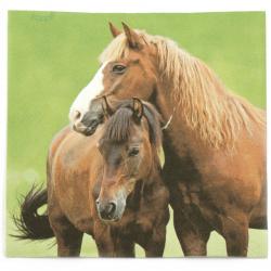 Салфетка ti-flair 33x33 см трипластова Two Horses -1 брой