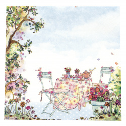 Салфетка ti-flair 33x33 см трипластова Afternoon Tea -1 брой