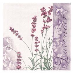 Салфетка ti-flair 33x33 см трипластова Scent of Lavender -1 брой