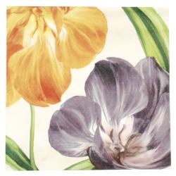 Салфетка ti-flair 33x33 см трипластова Tulipani Fioriti -1 брой