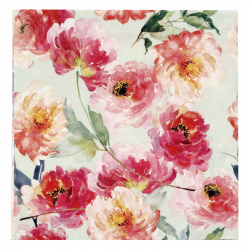 Салфетка ti-flair 33x33 см трипластова Summer Roses mint -1 брой