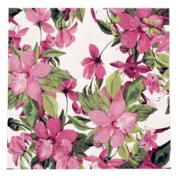 Салфетка ti-flair 33x33 см трипластова Flowering Clematis pink -1 брой