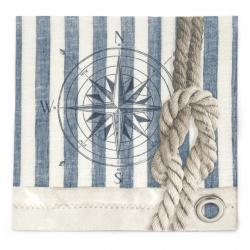Салфетка за декупаж Ambiente 33x33 см трипластова Compass and Rope -1 брой
