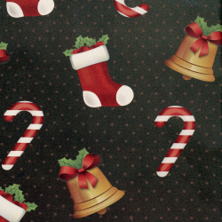 Christmas Wrapping Paper 510x750 mm Dark Green
