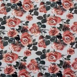 Хартия опаковъчна 510x750 мм рози