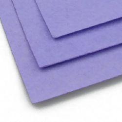 Felt Sheet, DIY Crafts 1 mm A4 20x30 cm color purple pale -1 pieces