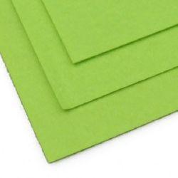 Pâslă 1 mm A4 20x30 cm culoare verde pal -1 bucată