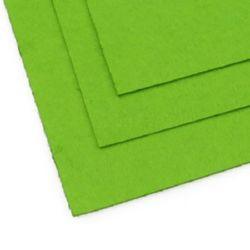 Foaie de pâslă, Artizanat DIY 1 mm A4 20x30 cm culoare verde -1 bucată