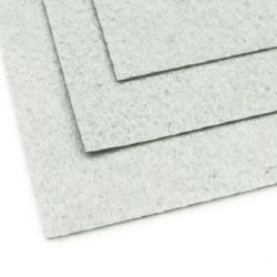 Felt Sheet, DIY Crafts Sewing Decoration 1 mm A4 20x30 cm color gray -1 pc