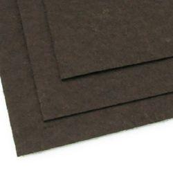 Филц 1 мм A4 20x30 см цвят черно кафяво -1 брой