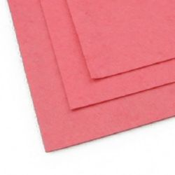 Felt Sheet, DIY Crafts Sewing Decoration 1 mm A4 20x30 cm color pink dark -1 pc