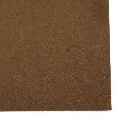 Felt 1 mm A4 20x30 cm color brown light -1 piece