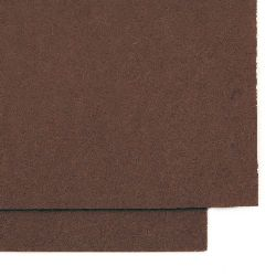 Felt  Craft Handmade,decoration.Card 1 mm A4 20x30 cm color brown -1 piece