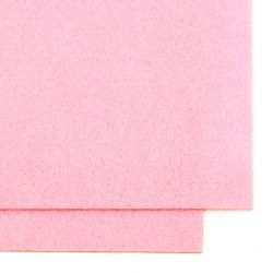 Acrylic Felt Sheet, DIY Craft Handmade 2 mm A4 20x30 cm color pink -1 pc