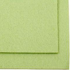 Felt Craft Handmade,decoration.Card 4 mm A4 20x30 cm color green light -1 piece