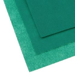 Felt 0.5 mm type panama A4 20 x 30 cm for applications, decorations and embroidery - green