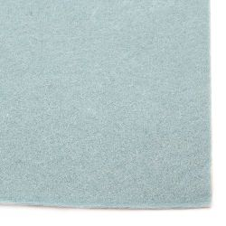 Soft Felt Fabric Sheet DIY Craftwork Decoration 2 mm A4 20x30 cm color blue light -1 piece
