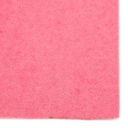 Филц мек 2 мм A4 20x30 см цвят розов светло -1 брой