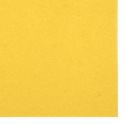 Pâslă 1 mm A4 20x30 cm culoare galben -1 bucată