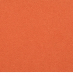 Dark Orange Felt Sheet, A4 20x30mm 1mm