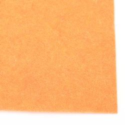 Fabric Felt Sheet, DIY Crafts Sewing Decoration 2 mm A4 20x30 cm color orange -1 pc