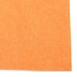 Филц 2 мм A4 20x30 см цвят оранжев тъмно -1 брой