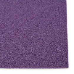 Φύλλο τσόχας 2 mm A4 20x30 cm μωβ σκούρο -1 τεμάχιο