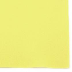 Φύλλο τσόχας μαλακό 1 mm A4 20x30 cm κίτρινο -1 τεμάχιο