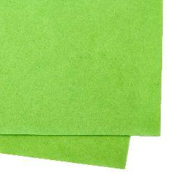 Φύλλο τσόχας 1 mm A4 20x30 cm πράσινο ανοιχτό -1 τεμάχιο