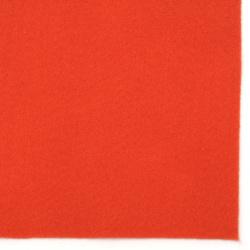 Soft felt Craft Handmade1 mm A4 20x30 cm color orange -1 piece