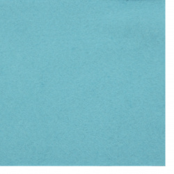 Soft Felt Fabric Sheet DIY Craftwork Decoration 2 mm A4 20x30 cm color blue sky -1 piece