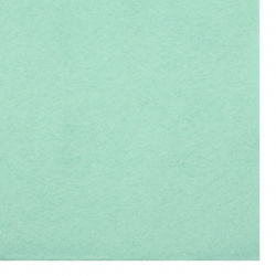 Soft Felt Fabric Sheet DIY Craftwork Decoration  2 mm A4 20x30 cm color green pale -1 piece