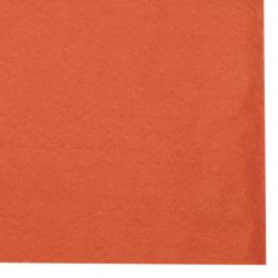 Филц мек 2 мм A4 20x30 см цвят оранжев тъмно -1 брой