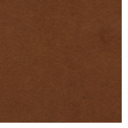 Soft Felt Fabric Sheet DIY Craftwork Decoration ,Handmade 2 mm A4 20x30 cm color brown -1 piece