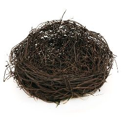 Bird Nest for Decoration, Easter, Eggs, Gifts 120 mm