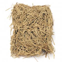 Хартиена трева цвят телесен тъмен - 50 грама