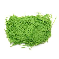 Хартиена трева цвят тюркоаз - 50 грама