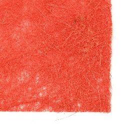Кокосова трева пресована А4 цвят червен