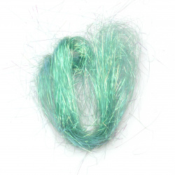 Angel hair turquoise rainbow -10 grams
